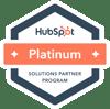 HubSpot platinum tier